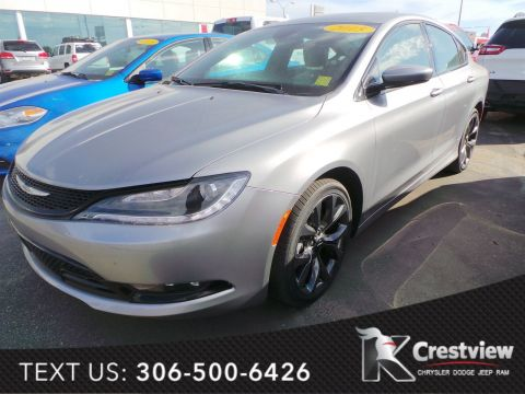 Used Chrysler 200 S V6 w/ Sunroof
