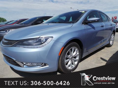 Used Chrysler 200 C w/ Leather, Sunroof, Navigation