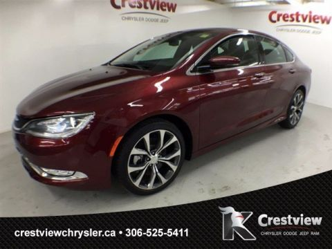 Used Chrysler 200 C AWD w/ Leather, Navigation