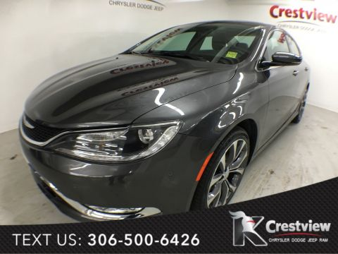 Used Chrysler 200 C AWD V6 w/ Sunroof, Navigation