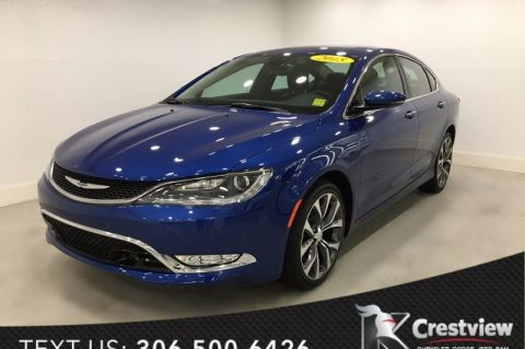 Used Chrysler 200 C AWD V6 | Sunroof | Navigation