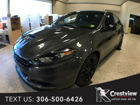 New Dodge Dart GT BlackTop | Leather | Sunroof | Navigation