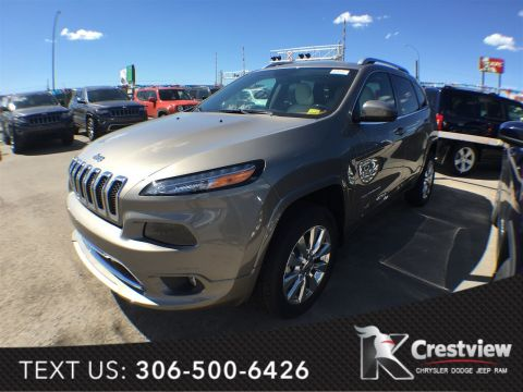 New Jeep Cherokee Overland 4x4 V6 | Sunroof | Navigation