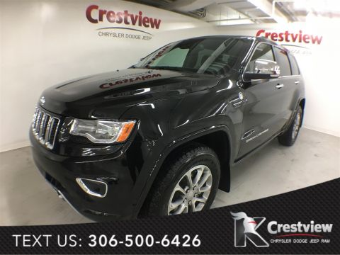 New Jeep Grand Cherokee Overland | Sunroof | Navigation | DVD