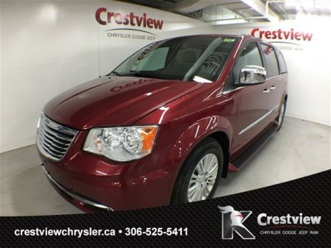 Used Chrysler Town & Country Limited w/ Leather, Sunroof, Navigation, DVD