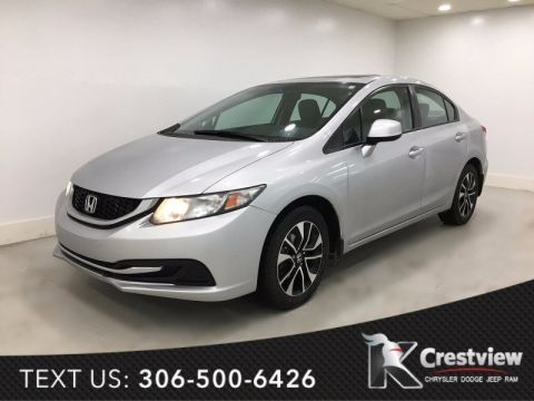 Used Honda Civic Sdn EX | Sunroof