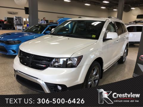 2017 Dodge Journey Crossroad AWD V6 | Navigation