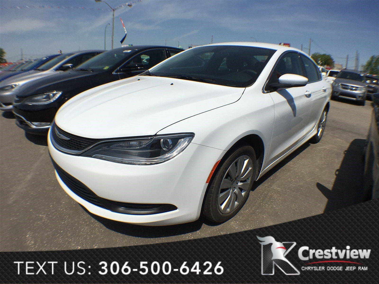 new 2016 chrysler 200 lx 4dr car near moose jaw 16c214. Black Bedroom Furniture Sets. Home Design Ideas