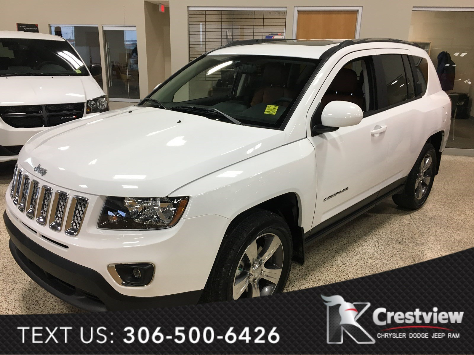 new 2017 jeep compass high altitude edition 4x4 sunroof sport utility near moose jaw 17c15. Black Bedroom Furniture Sets. Home Design Ideas