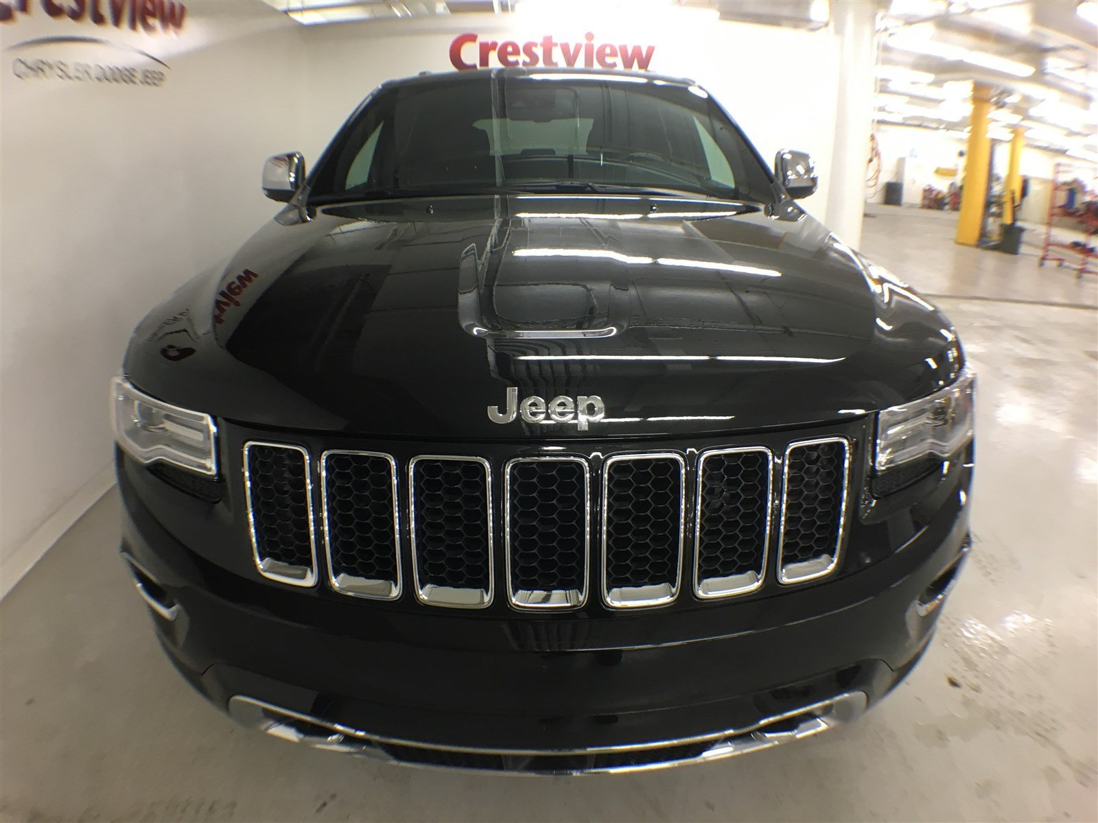 new 2016 jeep grand cherokee overland sunroof navigation dvd sport utility near moose jaw. Black Bedroom Furniture Sets. Home Design Ideas