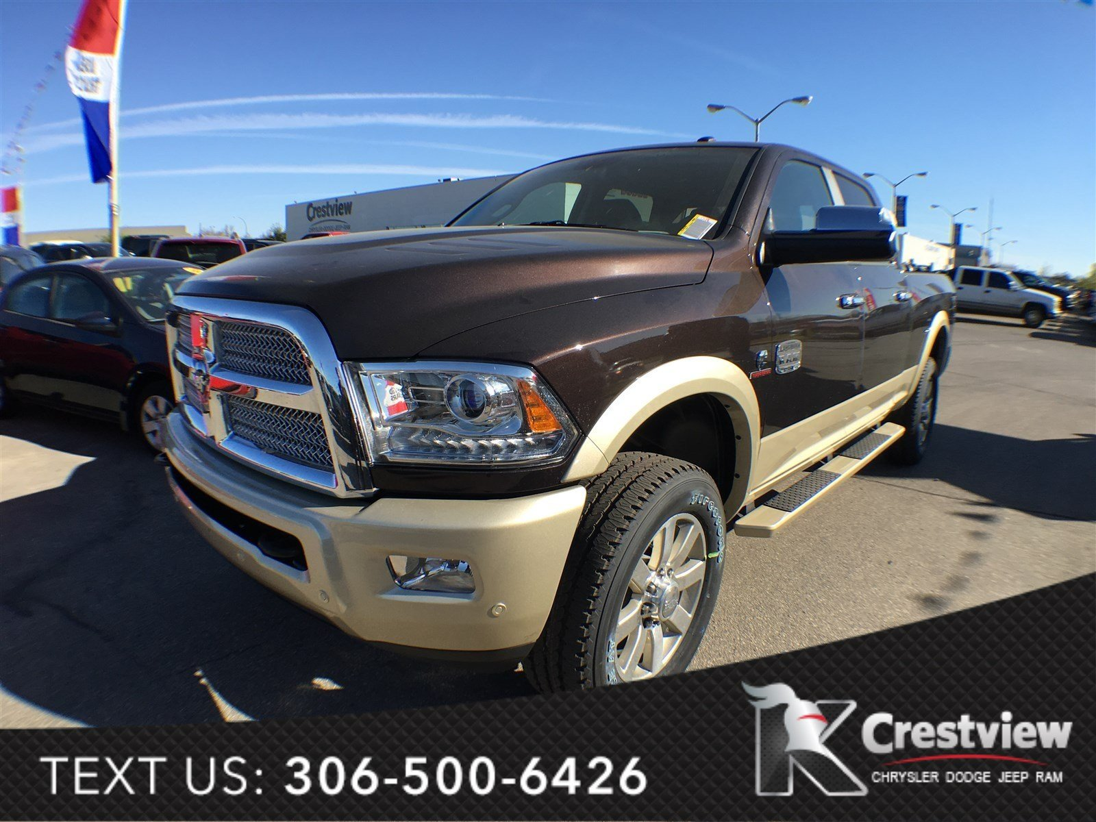 new 2017 ram 3500 longhorn crew cab sunroof navigation crew cab pickup near moose jaw 17t74. Black Bedroom Furniture Sets. Home Design Ideas